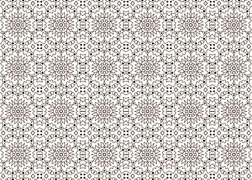 brown tiled islamic pattern pattern white background