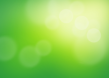 green halo glow light effect blur background