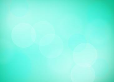 green halo light effect blur background