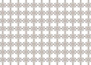tile islamic brown arabesque pattern white background