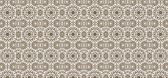 yellow islamic pattern tile background