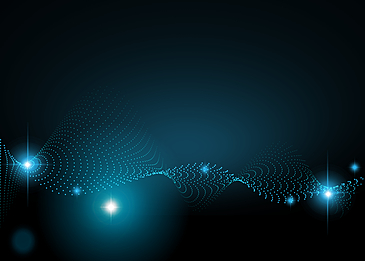 blue light abstract light particle background