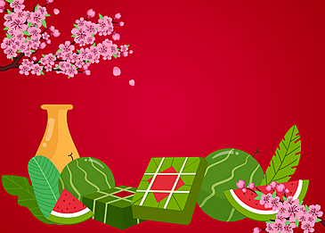 featured spring festival gifts vietnam spring festival background