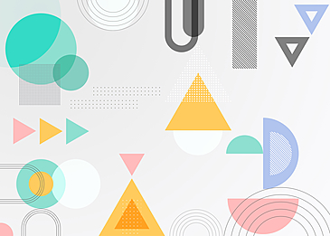 geometric abstract triangle background
