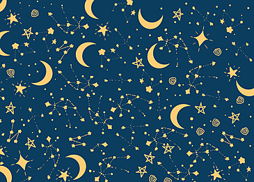 golden stars background tile seamless background