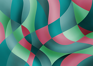 green pink abstract color curve background