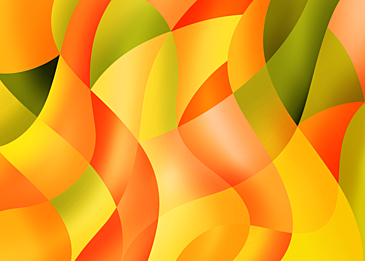 orange gradient abstract color curve background