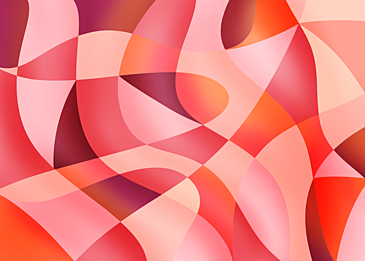 orange pink abstract colorful curve background