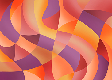 orange purple abstract colorful curve background