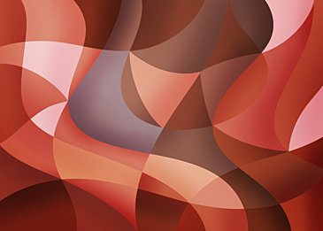 red brown abstract colorful curve background