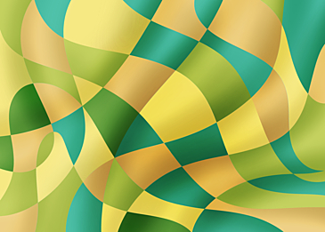 yellow green abstract colorful curve background