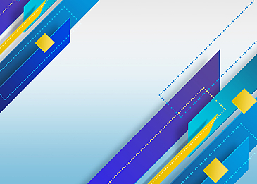 blue and yellow flat wind gradient abstract geometric background