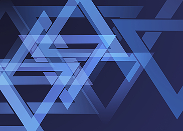blue triangle flat gradient abstract geometric background