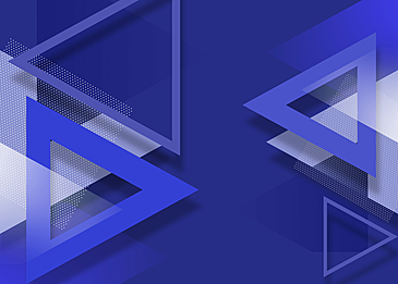 blue triangle gradient abstract geometric background