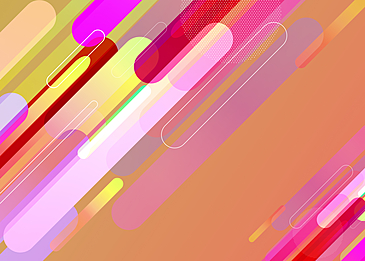 colorful transparent gradient abstract geometric background