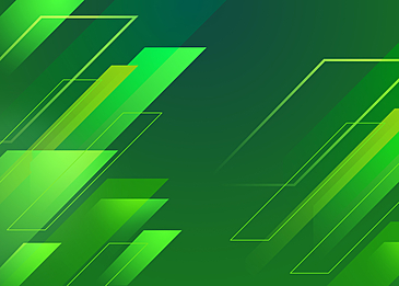 green gradient abstract geometric background