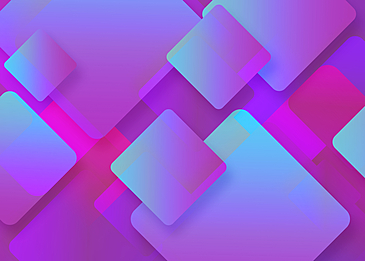 pink and blue square gradient abstract geometric background