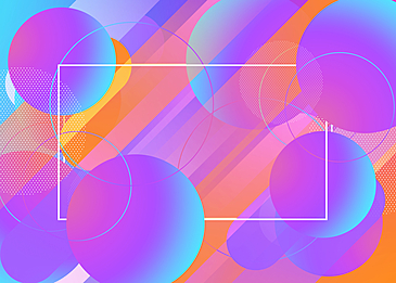 purple and blue circular gradient abstract geometric background