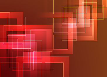 red square border gradient abstract geometric background