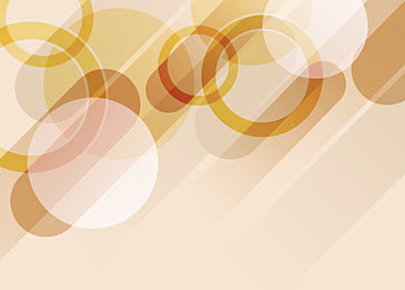 yellow circle gradient abstract geometric background