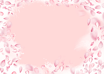 cherry blossom petal watercolor background