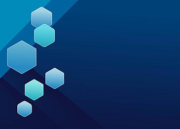 dark blue hexagon business background geometrical blue