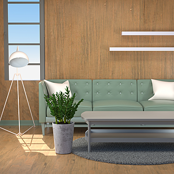 european american and japanese style simple modern style living room sofa