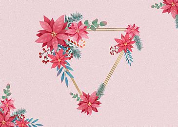 floral metal border texture background