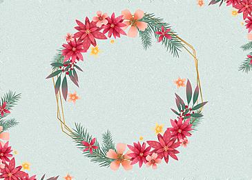 flower floral border texture background