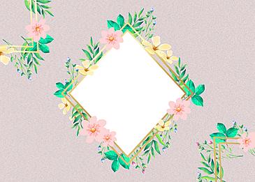 flower floral texture border background