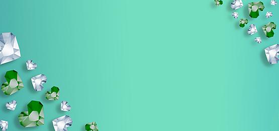 green shiny diamond background