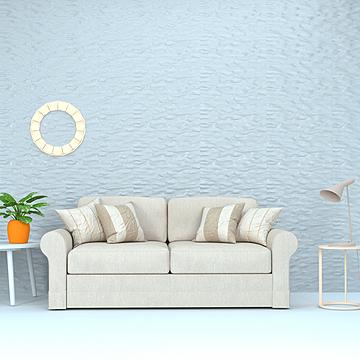 italian light luxury simple fabric living room sofa