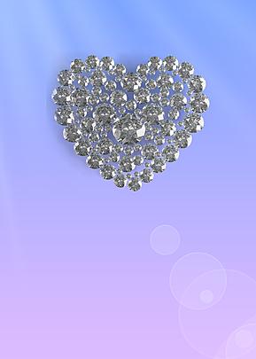 love jewelry diamond background