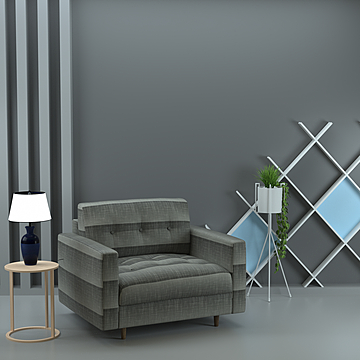 modern small apartment nordic style living room sofa