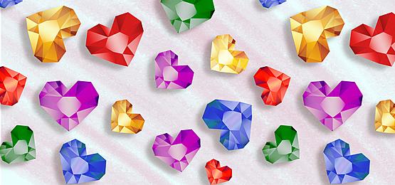 multicolored diamond tile background
