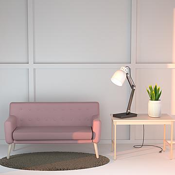 nordic fabric simple modern fabric living room sofa