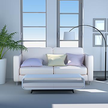 nordic japanese modern minimalist style living room sofa