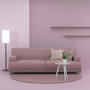nordic modern minimalist technology fabric living room sofa
