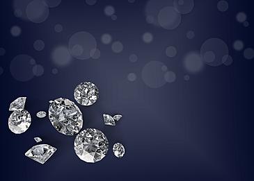 shiny diamond black background
