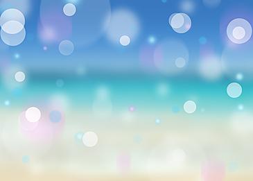 blue summer polka dot light effect background