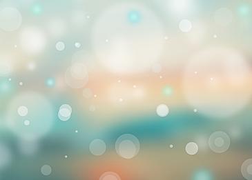 cyan summer polka dot light effect background