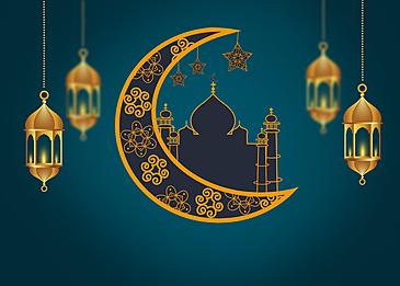 dark gradient eid mubarak ramadan background