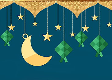 geometric figures eid mubarak ramadan background