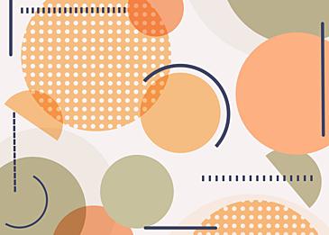 orange green abstract geometric wallpaper background