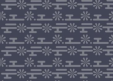 pattern vintage blue japan