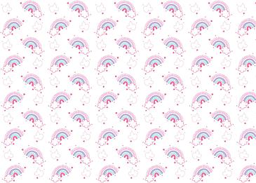 pink purple clouds rainbow multicolor stars