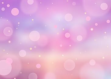 pink summer polka dot light effect background