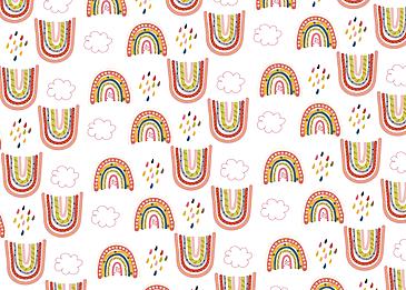 rainbow cloud raindrops multicolor cloud raining