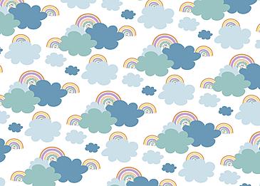 rainbow dark cloud cloud colorful cloud cloud