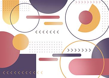 red purple gradient geometric wallpaper background